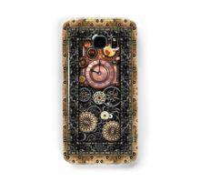 Infernal Steampunk Timepiece #2B Vintage Steampunk phone cases Samsung Galaxy Case/Skin