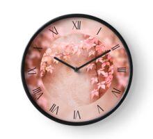 Wall abstract old ivy creeping Clock