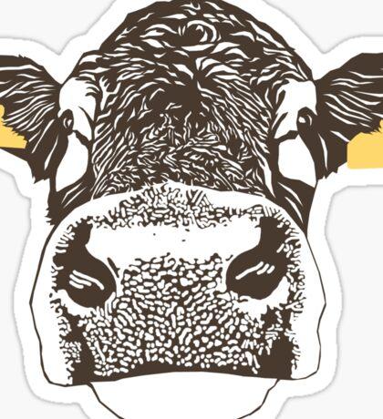 Lady Cow Sticker