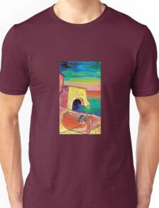 The red boat  Unisex T-Shirt