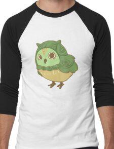 Green Owl Men's Baseball ¾ T-Shirt