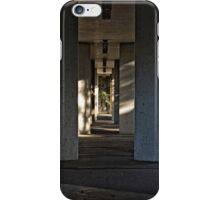 Walkway under a Footpath in Canberra/ACT/Australia iPhone Case/Skin