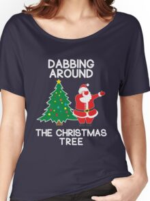 Dabbing Around the Christmas Tree - t-shirt Women's Relaxed Fit T-Shirt
