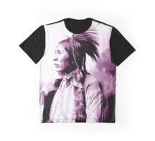 Ah-Keah-Boat (aka Jim Two Hatchet) - Kiowa Graphic T-Shirt