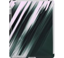 monochrome abstract stripes iPad Case/Skin