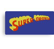 Super Grover Canvas Print