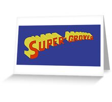 Super Grover Greeting Card