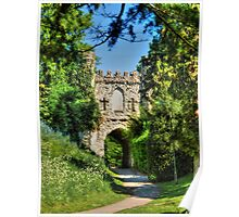 Reigate Castle Grounds Poster