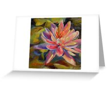 Risa's Pond by Chris Brandley Greeting Card