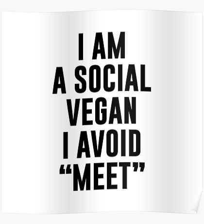 Social Vegan Poster