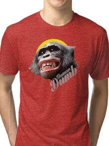 Human DUMB Tri-blend T-Shirt