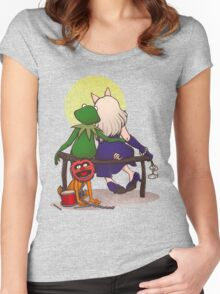 Puppet's love Women's Fitted Scoop T-Shirt