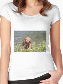 Loki Pausing -14 Women's Fitted Scoop T-Shirt