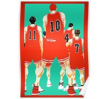 Team Shohoku Poster