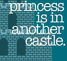 Our Princess Is In Another Castle. by wordsonstuff