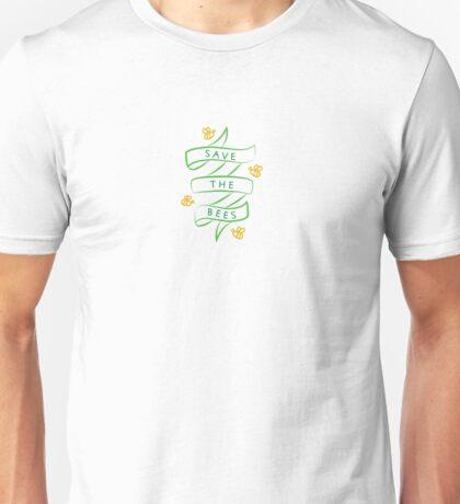 Bee banner Unisex T-Shirt