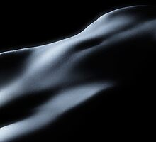 Abstract bodyscape nude woman body art photo print by ArtNudePhotos