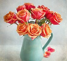 A very beautiful rose bouquet by carolynrauh