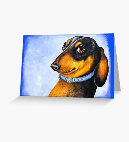Is this my best side? 717 views Greeting Card