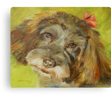 """Sophie"" by Chris Brandley Canvas Print"