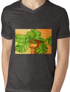 Prayer Plant Mens V-Neck T-Shirt