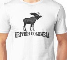 British Columbia T-shirt - Moose Unisex T-Shirt