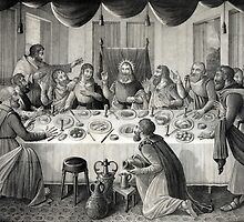 Jesus Christ and the Last Supper by Vintage Works
