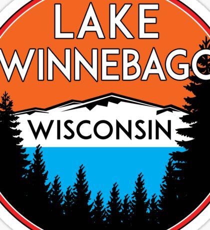 LAKE WINNEBAGO WISCONSIN BOATING JET SKI BOAT WINDSURFING KITE SURFING ICE RACING Sticker