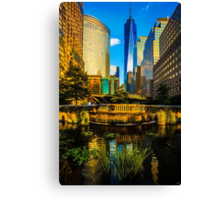 The Sunset Colors Of Battery Park City Canvas Print