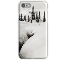 On the Crowfoot Glacier Trail, Winter 1974 iPhone Case/Skin