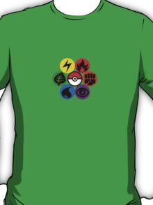 Pokemon Sacred Geometry T-Shirt