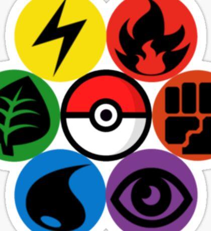 Pokemon Sacred Geometry Sticker