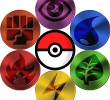 Pokemon Sacred Geometry Metallic by GarretBobbyFerg