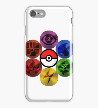 Pokemon Sacred Geometry Metallic iPhone Case/Skin