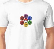 Pokemon Sacred Geometry Metallic Unisex T-Shirt