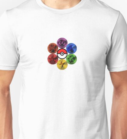 Pokemon Sacred Geometry Metallic Unisex T-Shirt