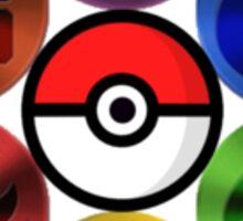 Pokemon Sacred Geometry Metallic Sticker