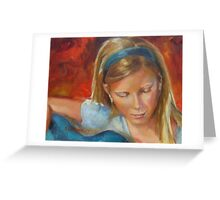 Sweet Melody by Chris Brandley Greeting Card