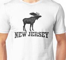 New Jersey T-shirt - Moose Unisex T-Shirt