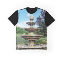 Fountain in the Garden Graphic T-Shirt
