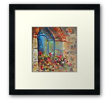 Tuscan Reflections by Chris Brandley Framed Print