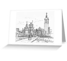 Plaza de Cervantes Greeting Card