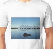Winter Arran Reflection on Seamill Beach 2 Unisex T-Shirt
