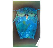 Angry Owl Poster