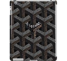Goyard Black Rainbow iPad Case/Skin