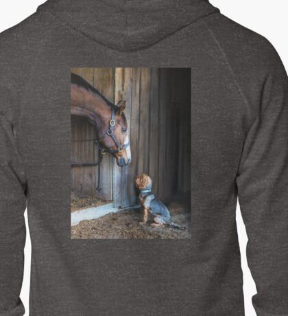 Two Friends- 2015 Dover Saddlery contest winer Zipped Hoodie