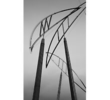 Christchurch Art Gallery- Poles Photographic Print