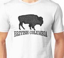 British Columbia T-shirt - Bison Buffalo Unisex T-Shirt