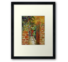 Welcome by Chris Brandley Framed Print