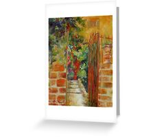 Welcome by Chris Brandley Greeting Card